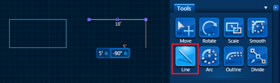 Pool Studio Type in Measurments