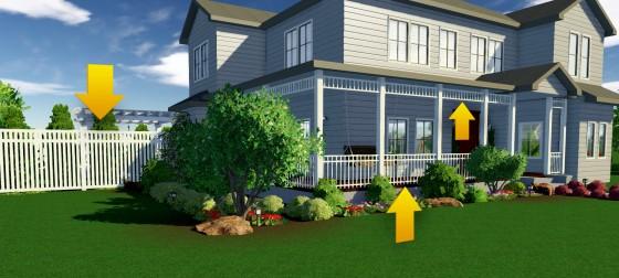 landscape design software fence
