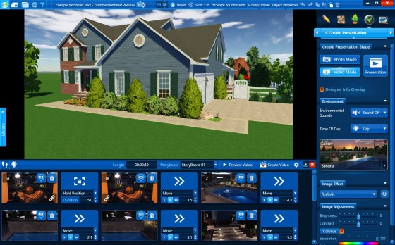 Landscape Design Software Video Recording