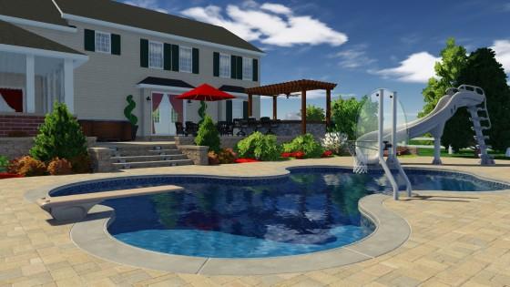Pool Studio VizTerra real products