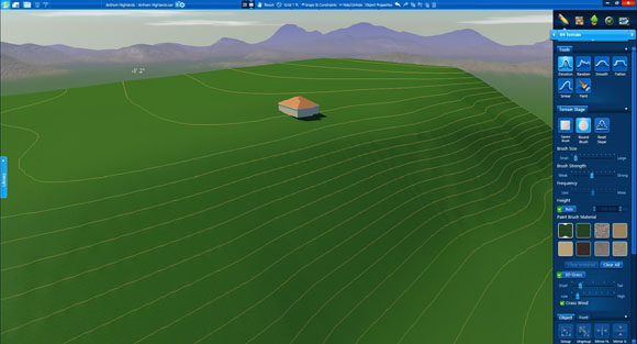 Vip3D Terrain Elevation