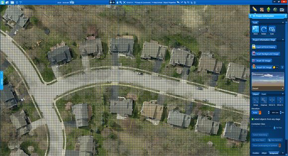 See GIS Aerial Images in Pool Studio and VizTerra