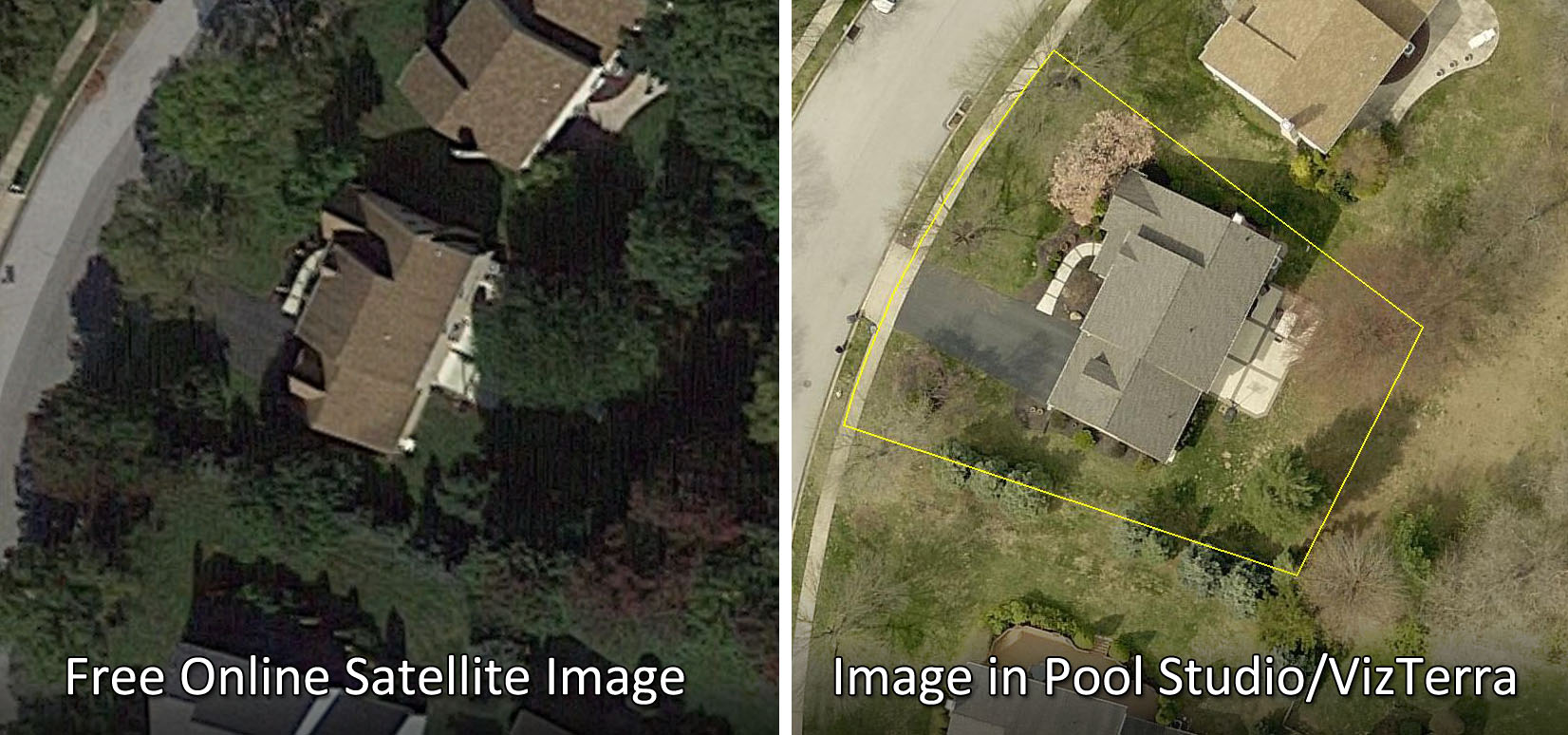 Landscape Design Software Aerial Image
