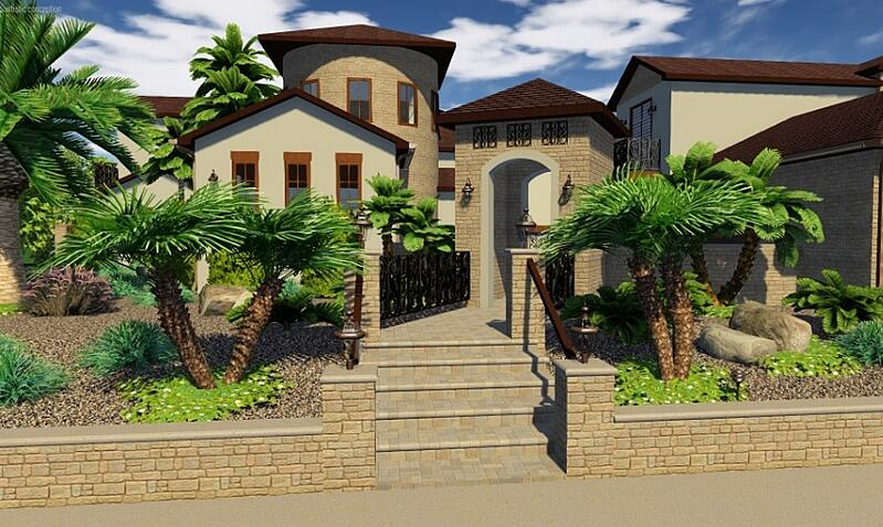 3D Landscape Design Software VizTerra