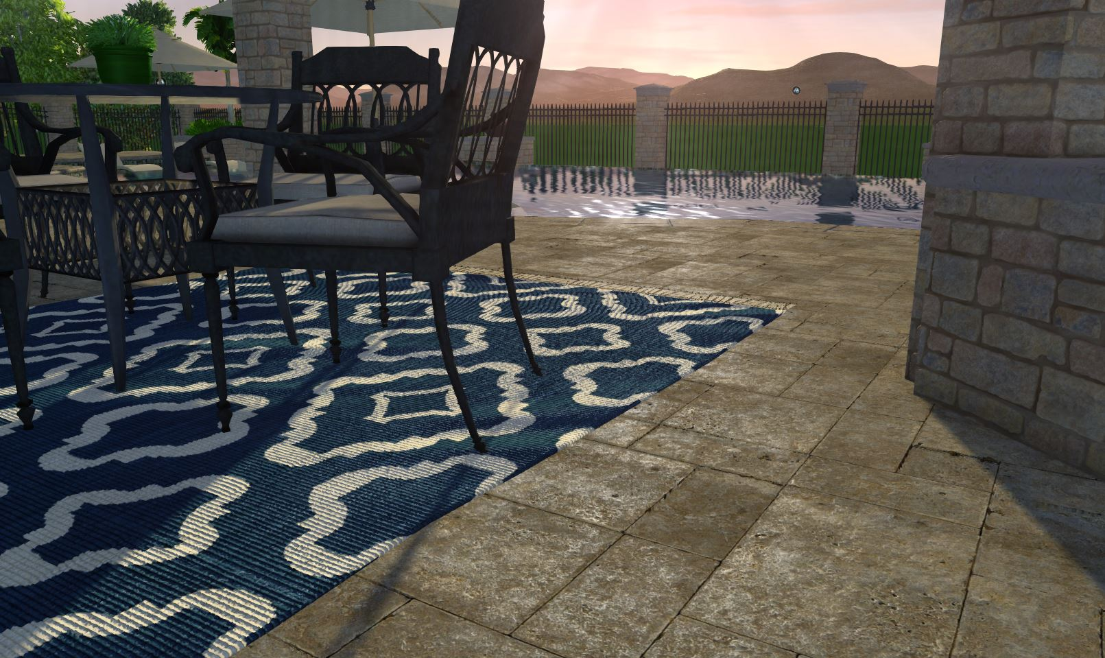 Garden_Design_Software_Travertine_Rug