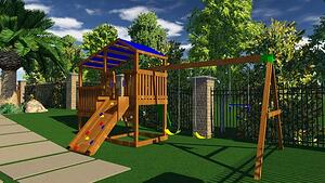 Wooden Playgound in Vip3D