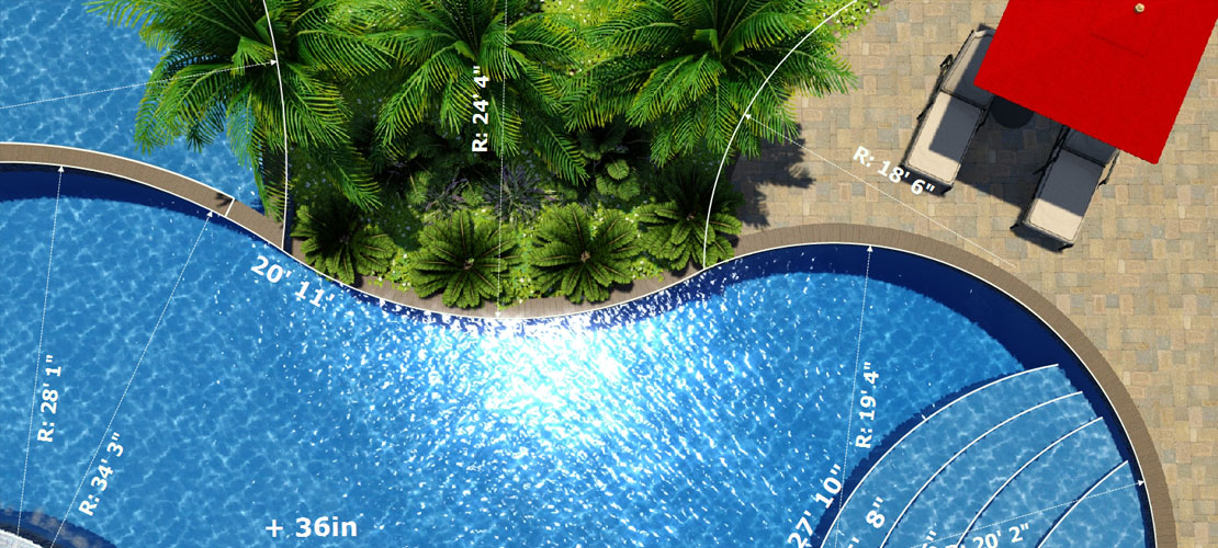 Attirant 20 Free Swimming Pool Templates For Your Pool Design Software