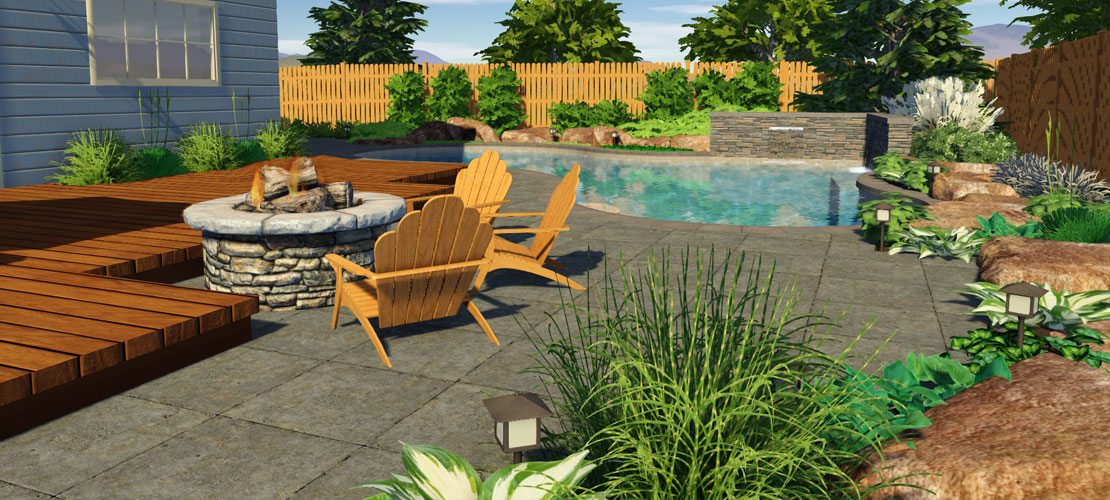 planting around a pool: the best & worst plants for a pool area