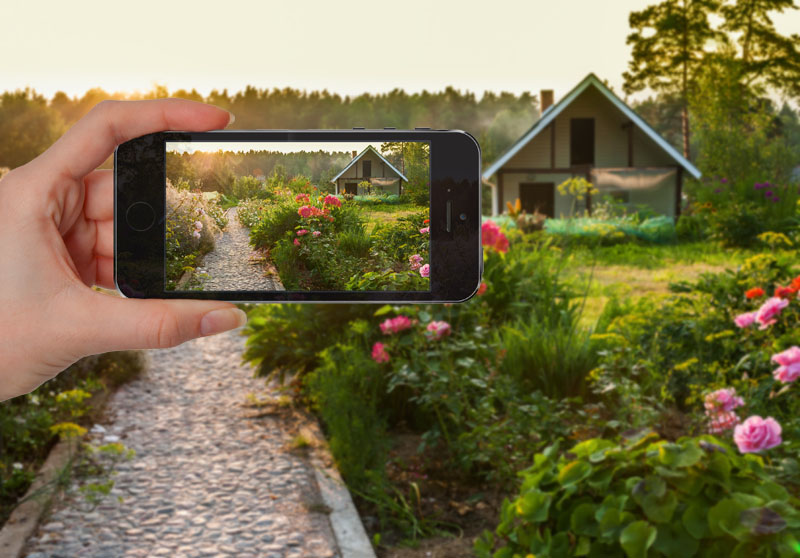 take landscape photos with your smartphone