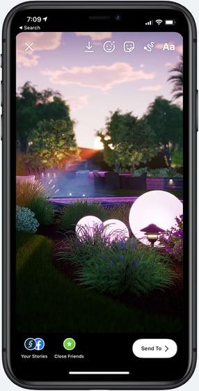 Iphone social image