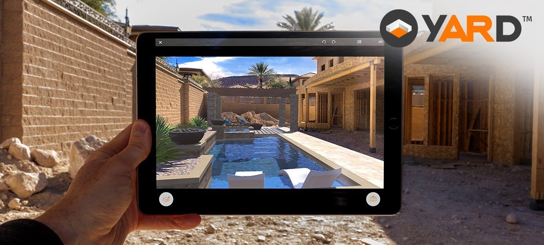 YARD: Augmented Reality for Swimming Pools, Outdoor Kitchens, and Hardscapes