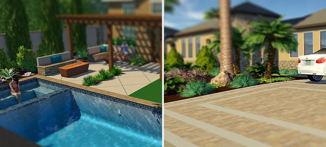 Create Incredible Hardscapes Faster with Custom Coping and Scoring Lines