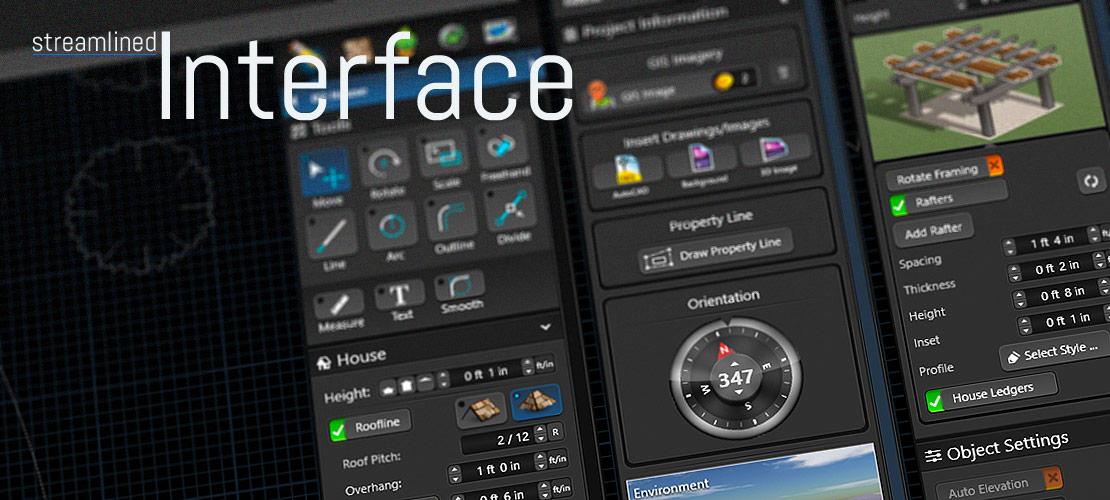 Streamlined User Interface