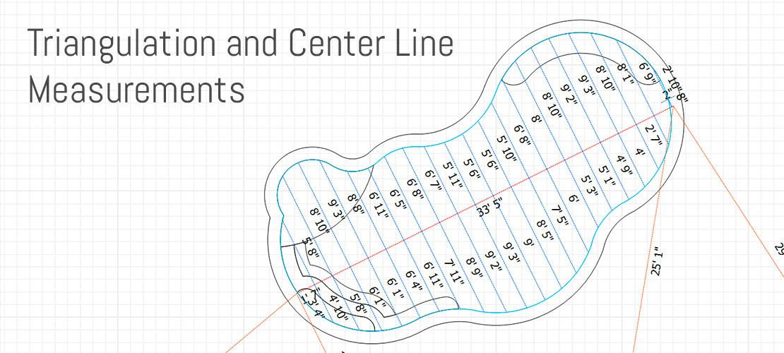 Triangulation and Center Line Measurements