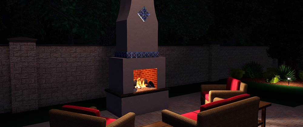 Design a Custom Fireplace