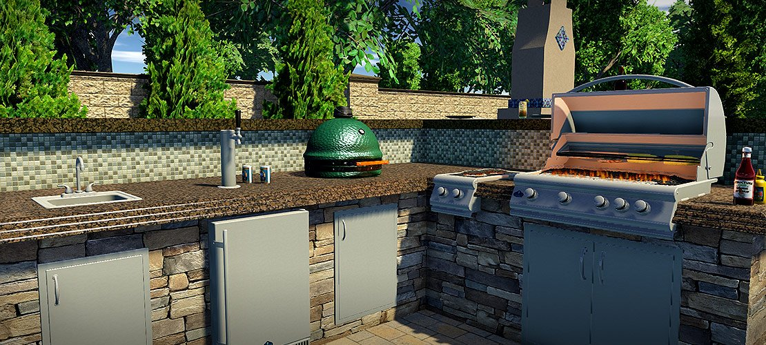 Design a Complete Outdoor Kitchen