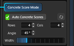 Auto Concrete Scores