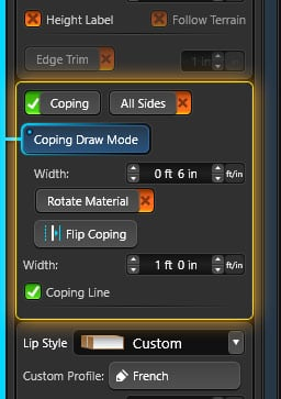 Custom Coping Interface