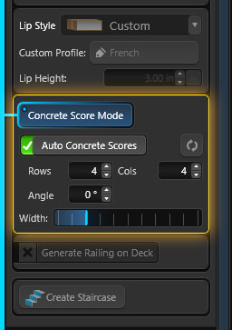Custom Scoring Interface