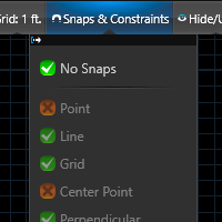 Snaps and Constraints Master Switch