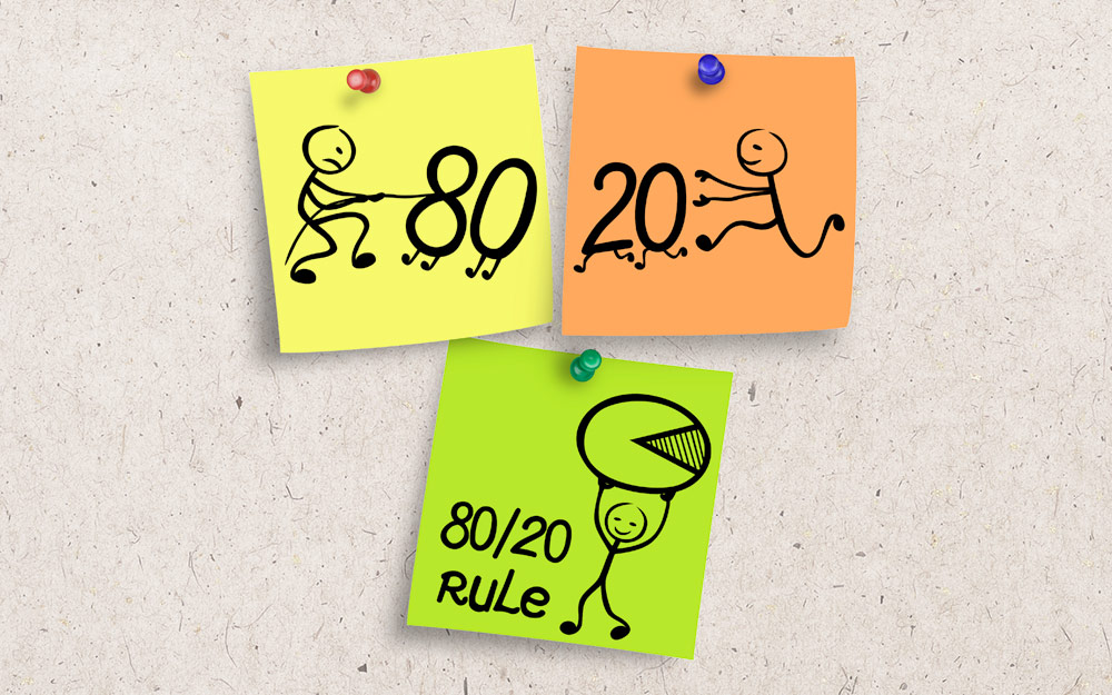 Improves on the 80/20 rule