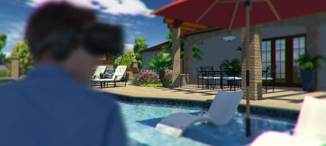 4 ways to use artistic effects to sell more for Virtual pool design