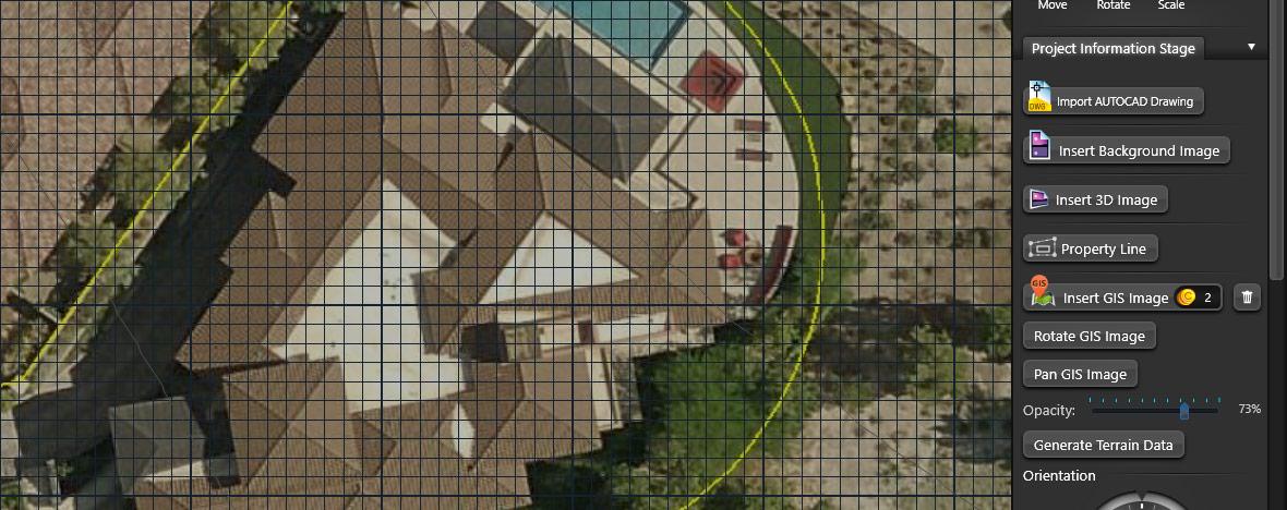 High Resolution GIS Image