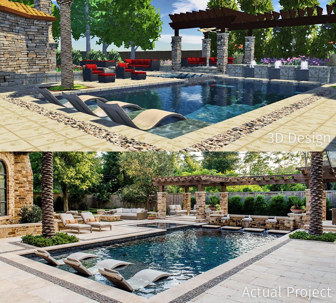 3D Design in Pool Studio