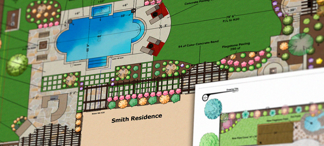 Pool and Landscape Construction Plans Made Easy