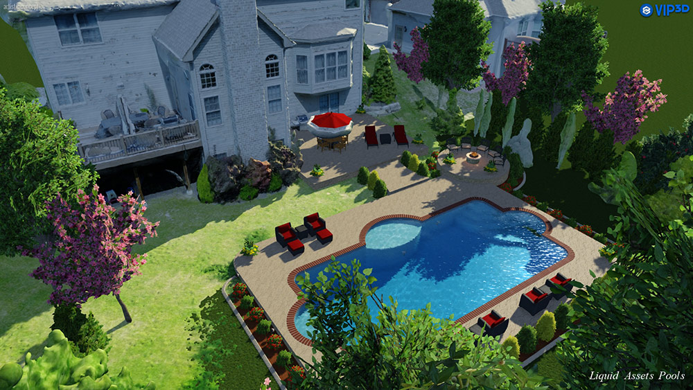 3D Aerial Model in Vip3D