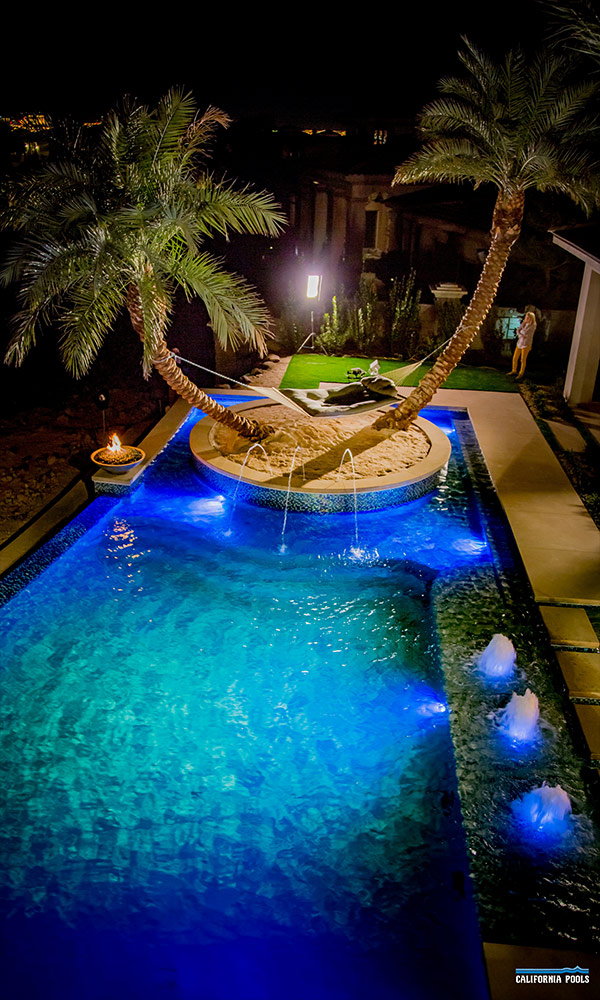 Vegas Pool Design