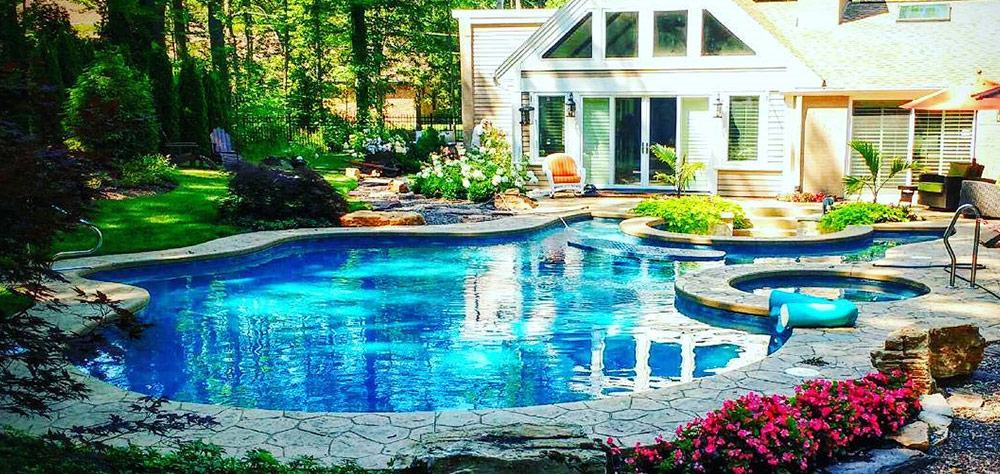 Modern Rectangle Pool