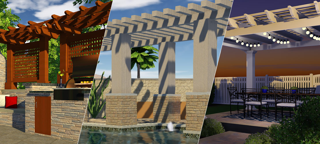 3 Ways to Incorporate a Pergola Design into Your Plans