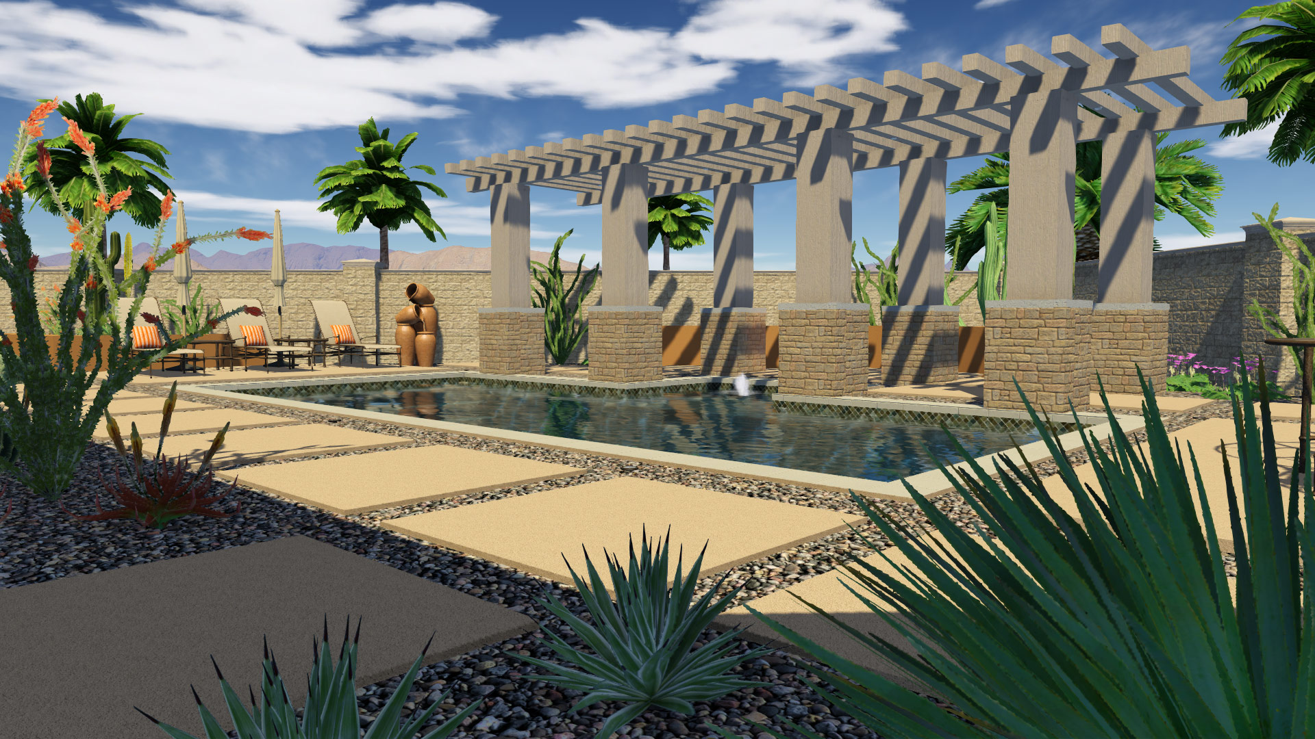 Find the Best Location for the Pergola