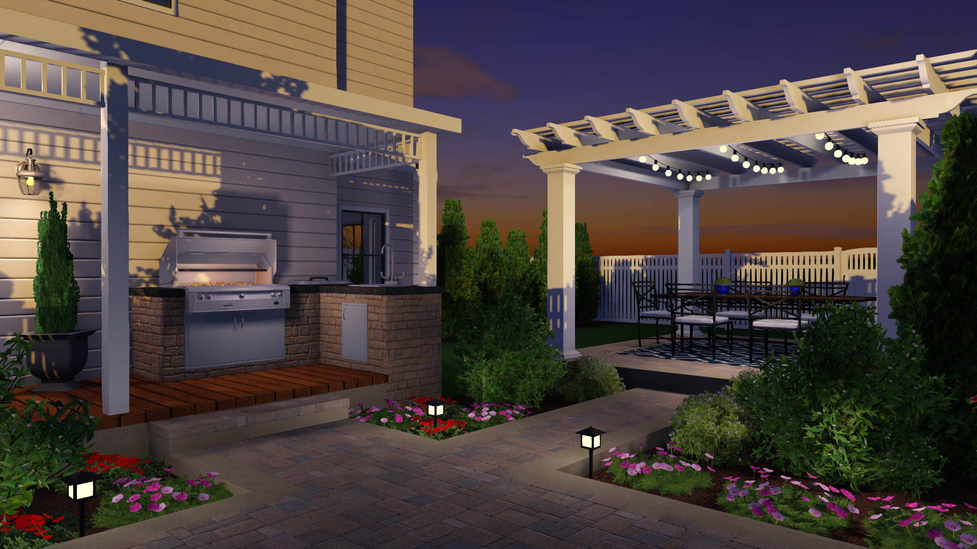 Incorporate Add-ons Into the Pergola
