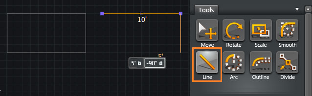 Type in Measurements Shortcut