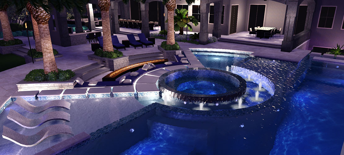 Building pools by building relationships how jeromey for Pool design hours