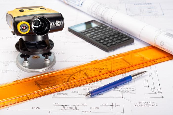 7 valuable tools used in landscape design for measuring a property - Laser mesure distance ...