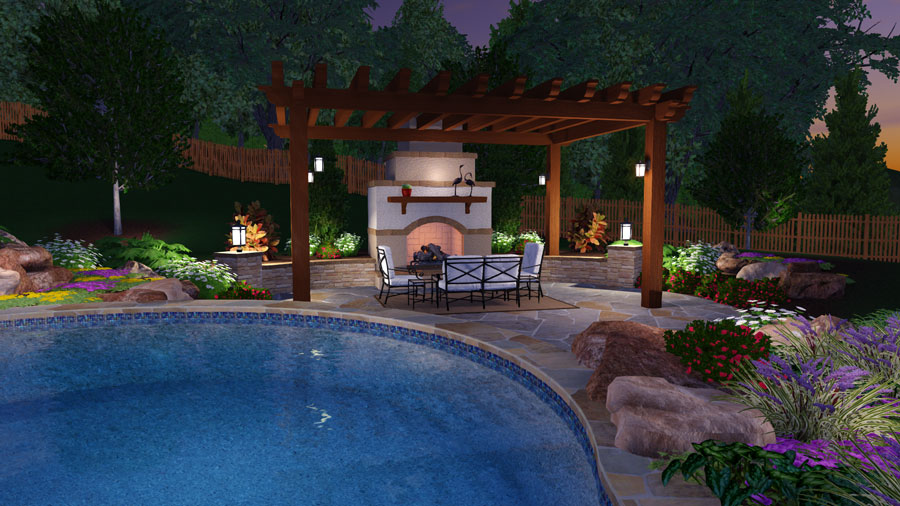 Planting around a pool the best worst plants for a pool area for Best plants around swimming pool