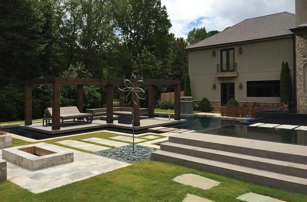 High End Pool Design
