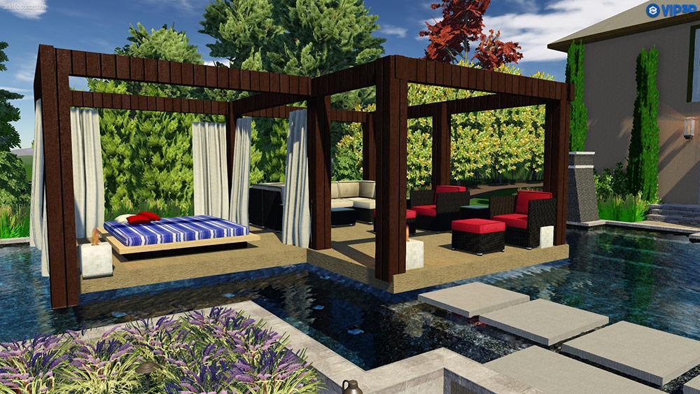 Design Created in Pool Studio