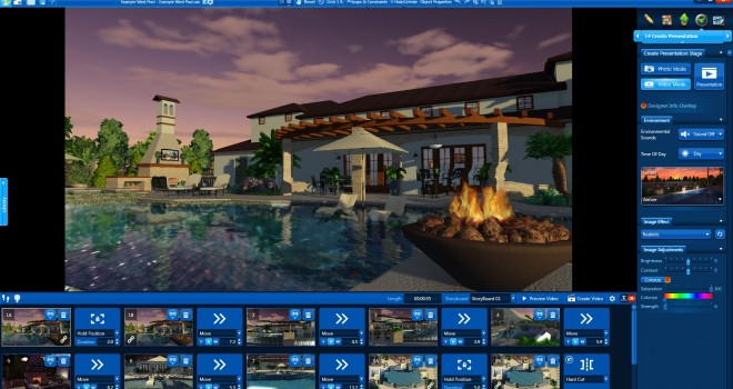 pool studio video mode example