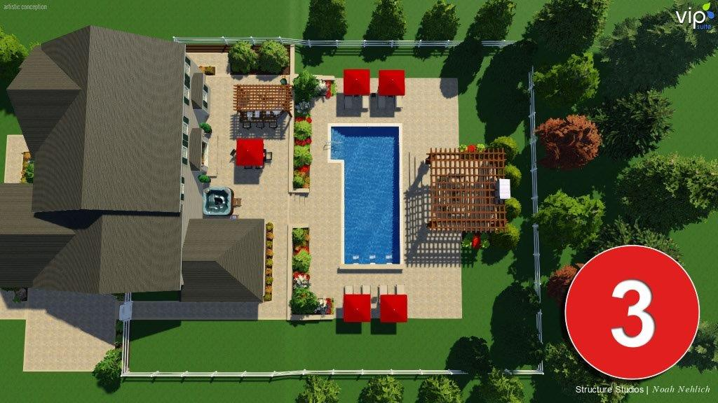 Stage 3 of 3: backyard design idea