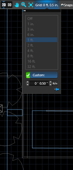 Custom Grid Size