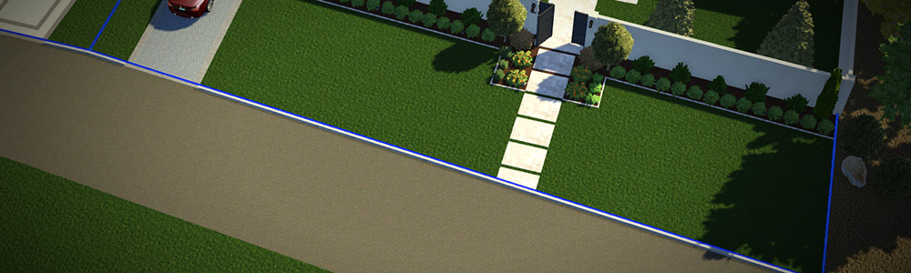 Show Property Lines in 3D