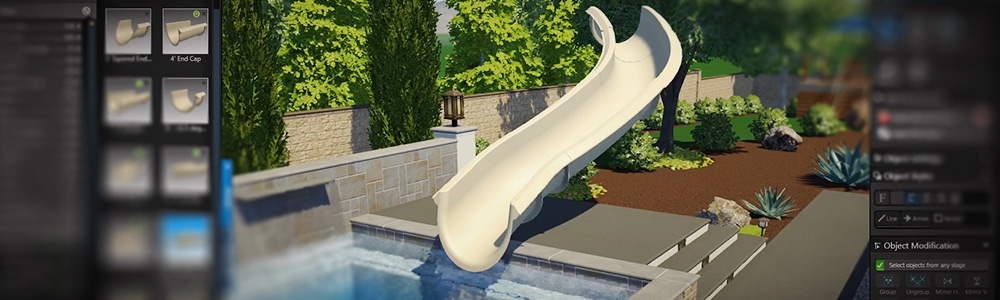 Dolphin Water Slides