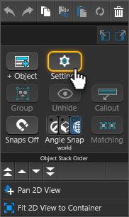 Right Click Menu - Object Settings