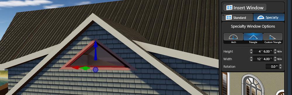 Triangle Window Option